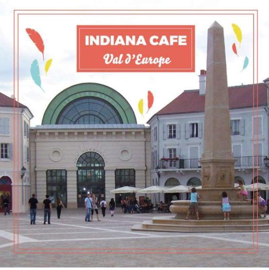 Indiana café Entrée place Toscane
