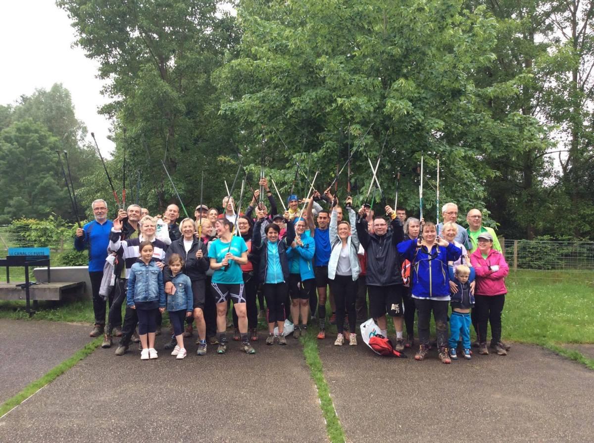 La nouvelle tendance sur le Val d'Europe la Marche Nordique ou Nordic Walking !