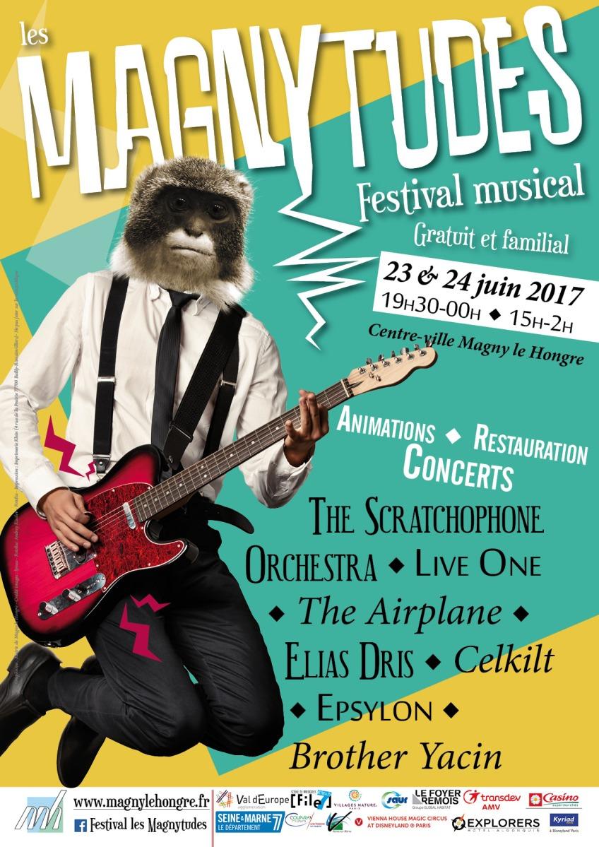 Les 23 & 24 juin, 2ème édition des Magnytudes au Val d'Europe