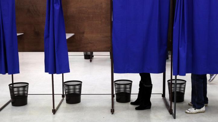 isoloir bureau vote