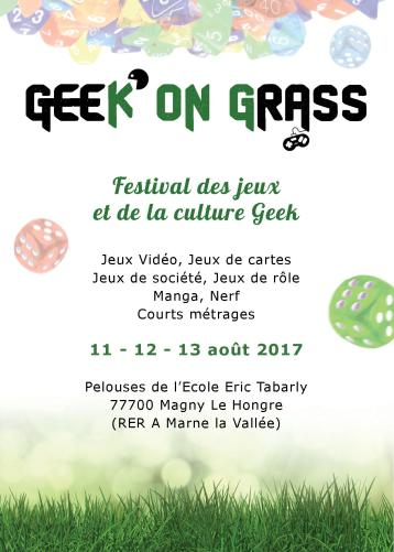 Geek on grass 2017 - Serrisinfos