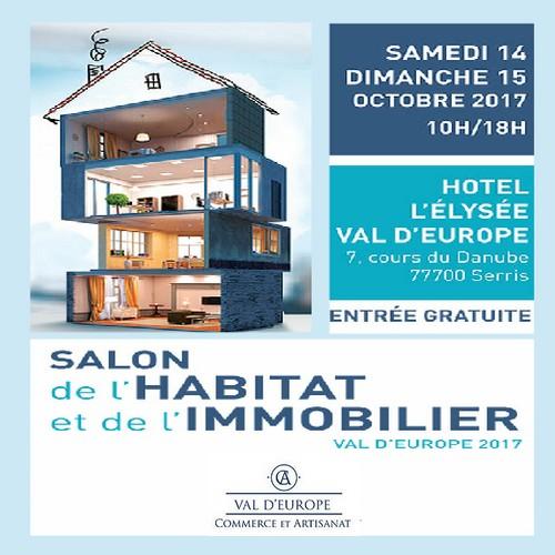 Serris salon de l habitat et de l immobilier 2017 val for Salon de l immobilier paris 2017