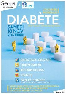 journée mondiale du Diabete_serris_affiche_serrisinfos